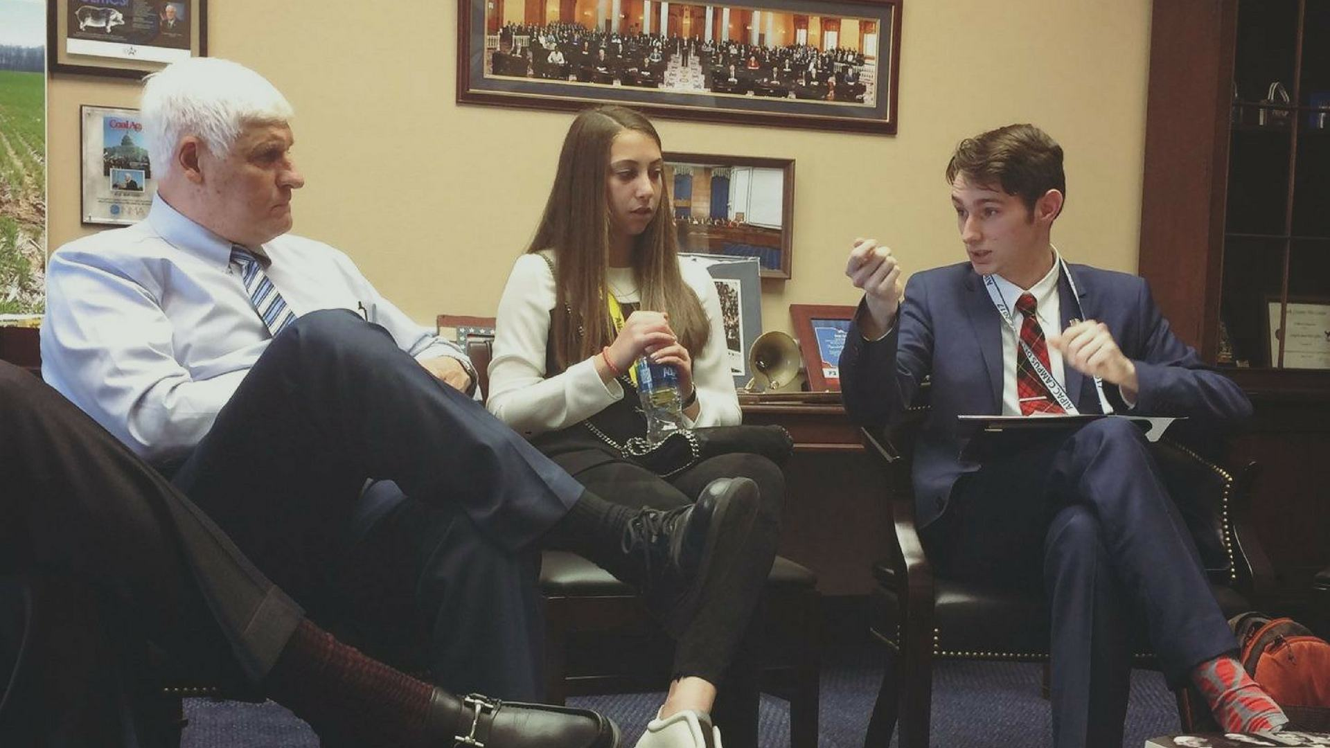 Tyler MacQueen Speaks with Congressman Bob Gibbs about the BDS movement against the State of Israel on college campuses, as well as discussing the European Union and the United Nations.