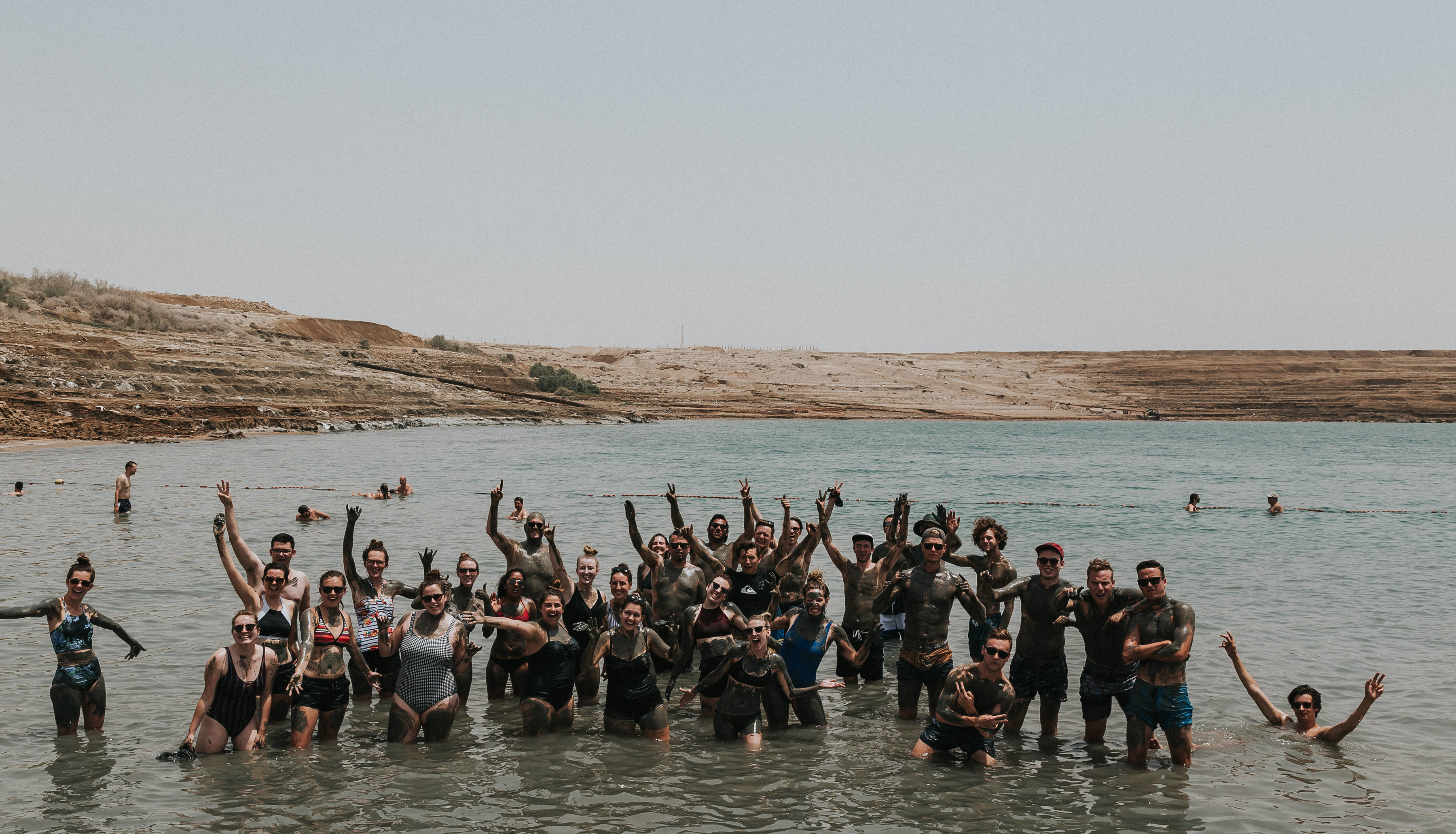 The Dead Sea was certainly a highlight, floating, covering ourselves in mud and trying our very hardest not to splash each other with the water.