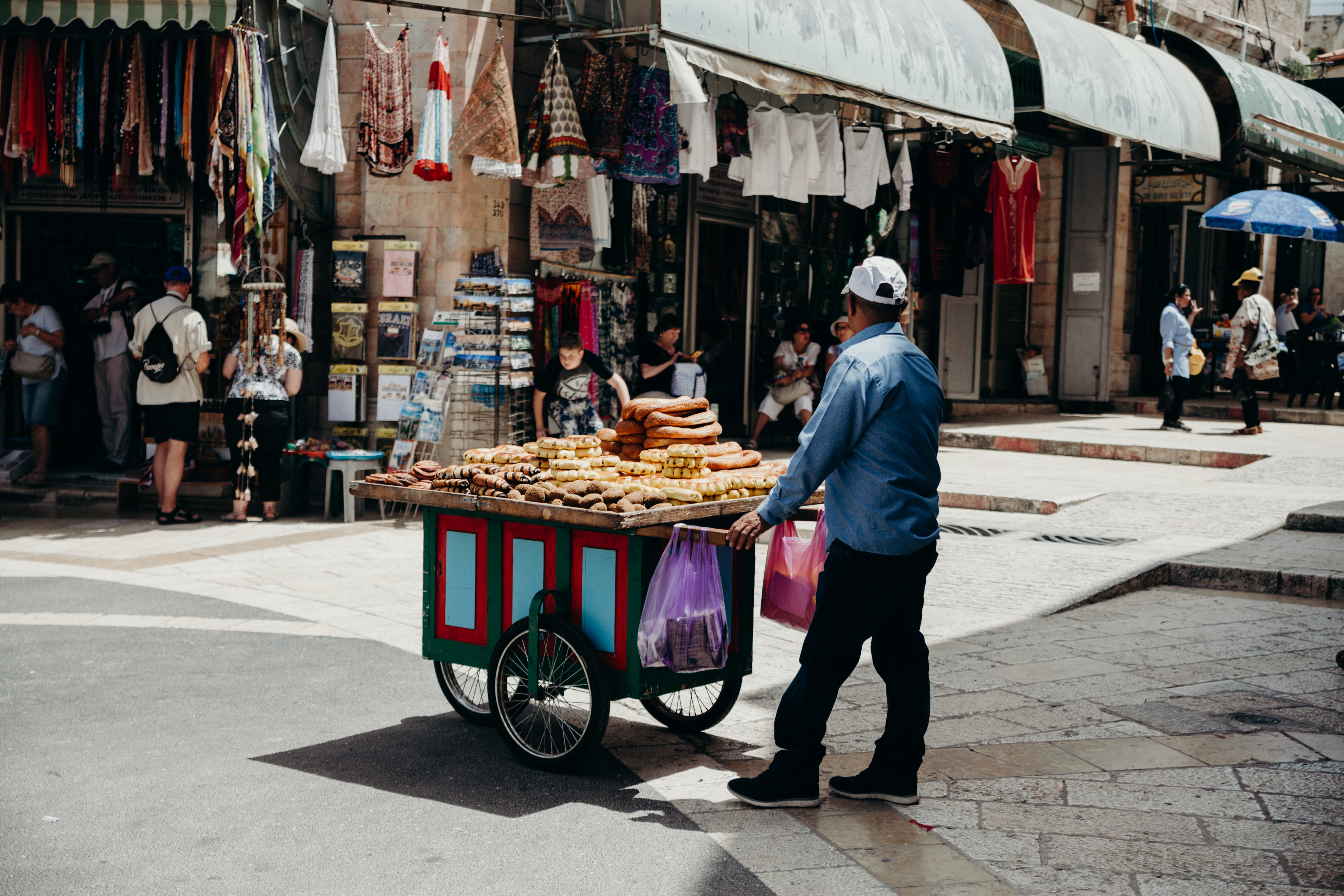 Love the beautiful details on the streets of Israel.